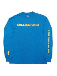バンドTシャツBILLIEEILISH/DON'TSMILELSビリー・アイリッシュオフィシャルロックTシャツ長袖村上隆サマーソニック