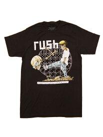 バンドTシャツ RUSH / ROLE THE BONES ラッシュ オフィシャル ロックTシャツ プログレ ハードロック PUSHEAD パスヘッド