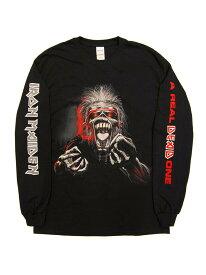 バンドTシャツ IRON MAIDEN / A REAL ONE 3 COLOR LS アイアン・メイデン オフィシャルTシャツ ロックTシャツ 長袖 NWOBHM
