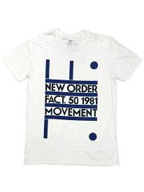 バンドTシャツ NEW ORDER / MOVEMENT (2XL) ニュー・オーダー オフィシャル ロックTシャツ ピーター・サヴィル JOY DIVISION ジョイ・ディヴィジョン UNDERCOVER RAF SIMONS