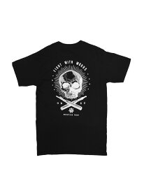[限定アイテム] LAを代表するストリートブランド【正規品】 OBEY × RAVI ZUPA / FIGHT WITH WORDS T-SHIRTS オベイ Tシャツ バックプリント コラボ メンズ レディース