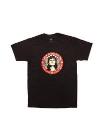 LAを代表するストリートブランド【正規品】 OBEY / WAKE UP SILENT MAJORITY (BLK) オベイ Tシャツ バックプリント シェパード・フェアリー
