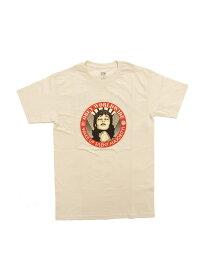 LAを代表するストリートブランド【正規品】 OBEY / WAKE UP SILENT MAJORITY (CREAM) オベイ Tシャツ バックプリント シェパード・フェアリー