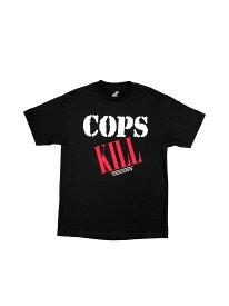 NATURE WORLD × PLEASURES / COPS KILL T-SHIRT ネイチャーワールド × プレジャーズ Wネーム Tシャツ バックプリント