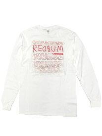 ムービーTシャツ THE SHINING / REDRUM LS (2XL) シャイニング オフィシャル 映画Tシャツ 長袖 スタンリー・キューブリック UNDERCOVER アンダーカバー