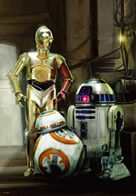 1000ピース ジグソーパズル スター・ウォーズ エピソード7 R2-D2、C-3PO&BB-8(51x73.5cm)