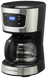 ラッセルホブス コーヒーメーカー 5杯 ペーパーフィルター不要 タイマー ベーシックドリップ 7620JP