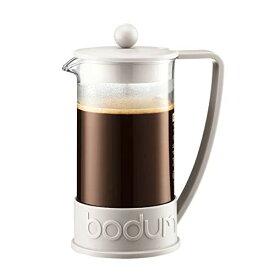 BODUM ボダム BRAZIL ブラジル フレンチプレス コーヒーメーカー 1L オフホワイト 【正規品】 10938-913J