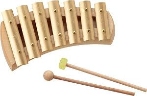 アウリス AURIS 楽器 鉄琴 真鍮 グロッケン ペンタトニック 7音