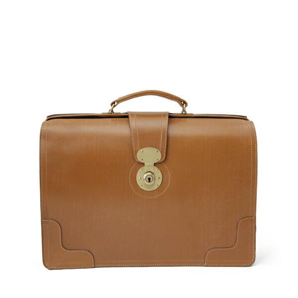 ホワイトハウスコックス【Whitehouse Cox】型番:L9505(ニュートン) ブリーフケース 鞄 ブライドルレザー 牛革(ベージュ)