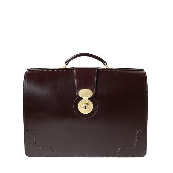 ホワイトハウスコックス【Whitehouse Cox】型番:L9505(ハバナ) ブリーフケース 鞄 ブライドルレザー 牛革(ブラウン)