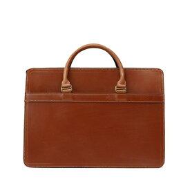 ホワイトハウスコックス【Whitehouse Cox】型番:L9892(ニュートン) ブリーフケース 鞄 ブライドルレザー 牛革(ベージュ)