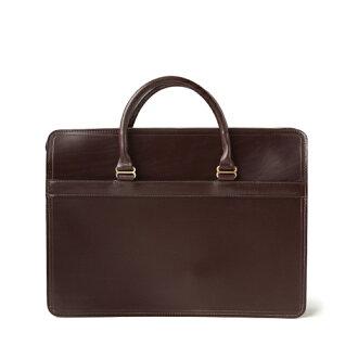 白宫 Cox-:L9892 (哈瓦那) 公文包袋马笼头皮革牛皮皮革 (布朗)