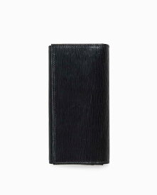 ホワイトハウスコックス【Whitehouse Cox】型番:S1160(ブラック/グリーン) 財布 長財布 ロングウォレット オックスフォードブライドルレザー 牛革 男女兼用