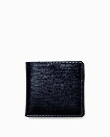 ホワイトハウスコックス【Whitehouse Cox】型番:S7532(ネイビー) 財布 二つ折り財布 リージェントブライドルレザー 牛革 男女兼用