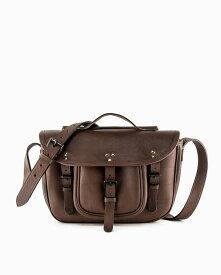 ホワイトハウスコックス【Whitehouse Cox】型番:L2375(ブラウン) ハンティングバッグ 鞄 サファリレザー 牛革