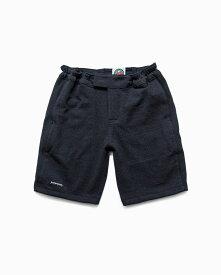 バーバリアン【BARBARIAN】12oz SHORT PANTS / QSF23(ブラック/コール)メンズ パンツ ニットパンツ ショートパンツ