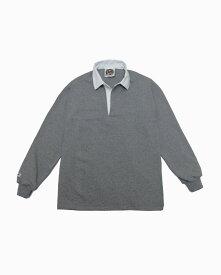 バーバリアン【BARBARIAN】8oz REGULER LONG / CSLA03(オックスフォード)メンズ 長袖 レギュラーカラー ラガーシャツ ライトウエイト 無地