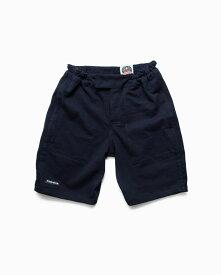 バーバリアン【BARBARIAN】8oz SHORT PANTS / RSF38(ネイビー/ブラック)メンズ パンツ ニットパンツ ショートパンツ ライトウエイト