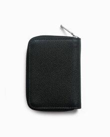 ホワイトハウスコックス【Whitehouse Cox】型番:S1957(ブラック) 財布 ジップ付き二つ折り財布 ロンドンカーフ 牛革 男女兼用