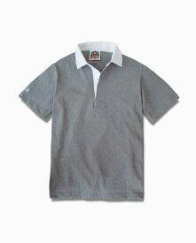 バーバリアン【BARBARIAN】8oz REGULER SHORT / CSSA03(オックスフォード)メンズ 半袖 レギュラーカラー ラガーシャツ ライトウエイト
