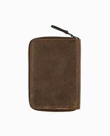 セトラー【SETTLER】型番:OW2534(ブラウン) カウハイド 財布 二つ折り財布