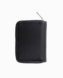 ホワイトハウスコックス【Whitehouse Cox】型番:S1957(ブラック/ブラック) 財布 ジップ付き二つ折り財布 リージェントブライドルレザー 牛革 男女兼用