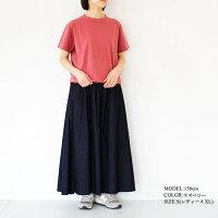 [homspun]ホームスパン天竺半袖TシャツS(レディースXLサイズ)M(メンズサイズ)6272