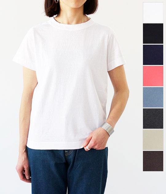 [homspun]ホームスパン 天竺半袖Tシャツ 191-6271