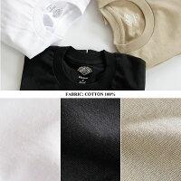 [DANTON]ダントンPOCKETTクルーネックポケット長袖TシャツJD-9077メンズレディース