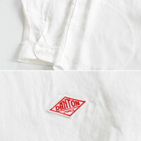 [DANTON]ダントンLINENCLOTHバンドカラー長袖シャツ(レディース・メンズ)JD-3606KLSJD-3607KLS