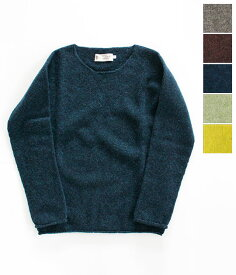 [NOR'EASTERLY]ノア イースターリィ L/S WIDE NECK ワイドネックセーター 13-001