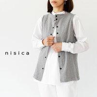 [nisica]ニシカガンジーネックベストNIS-855