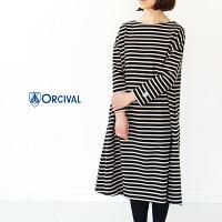 [ORCIVAL]オーチバル・オーシバルCOTTONLOURDフレアロングワンピースRC-9098