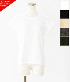 [homspun]ホームスパン 天竺フレンチスリーブTシャツ 6906
