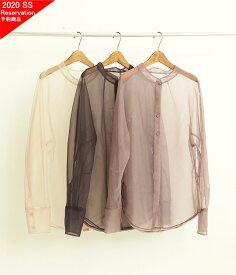 [TODAYFUL]トゥデイフル Organdy Sheer Shirts オーガンジーシアーシャツ 12010414