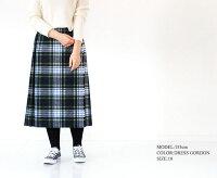[O'NEILOFDUBLIN]オニールオブダブリンウールキルトスカート5073