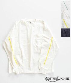 [KAPTAIN SUNSHINE]キャプテンサンシャイン West Coast Long Sleeved Tee KS21SCS09