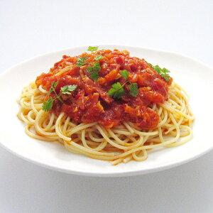 さっぱり美味しいトマトのパスタ[アマトリチャーナパスタセット](1人前)シェフ手作りパスタソースと、便利で美味しい♪1分温めるだけの冷凍パスタ麺のセットです。