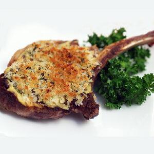 仔羊のペルシヤード(1本)オーブンやトースターで焼くとお肉は香ばしくパン粉はさくさくに。パーティーにもおすすめのラムチョップ。