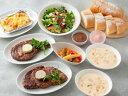 [サーロインステーキコースセット](2人用)アンガス牛のサーロインステーキがご自宅で焼き目をつけるだけでレストラン…