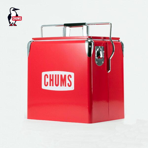 CHUMS チャムス チャムススチールクーラーボックス CHUMS Steel Cooler Box (CH62-1128) (2017春夏) アウトドア キャンプ(20%OFF)