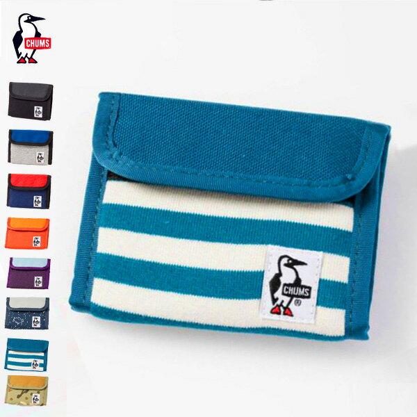 CHUMS チャムス トリフォルドウォレットスウェットナイロン Trifold Wallet Sweat Nylon (CH60-0696 ) (2018春夏商品) 財布 (ネコポス対応商品) (20%OFF)
