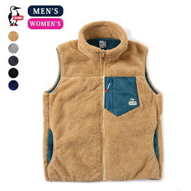 CHUMS チャムス ボンディングフリースベスト Bonding Fleece Vest (CH14-1182) (CH04-1182) (2019秋冬)フリースベスト ユニセックス