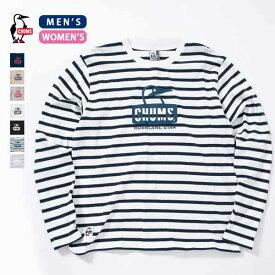 CHUMS チャムス Booby Face L/S T-Shirt ブービーフェイスロングスリーブTシャツ (ユニセックス) (CH01-1321) (CH11-1321) (2019春夏) (ネコポス対応商品) (30%OFF)