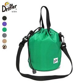 Drifter ドリフター / DRAWSTRING POUCH ドローストリングポーチ 【DFV1200】 巾着 ミニバッグ 【ネコポス対応商品】