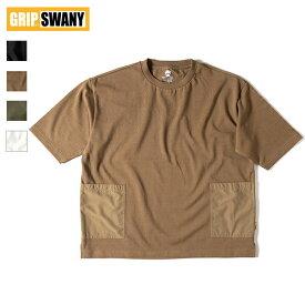 GRIP SWANY / CAMP POCKET T SHIRT 2.0 キャンプポケットTシャツ 2.0 (GSC-35) (グリップスワニー) (SUPPLEX) (2021春夏) (ネコポス配送商品)