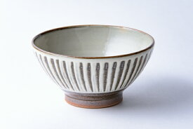 小石原焼 鬼丸豊喜窯 四寸飯碗 刷毛目 陶器 作家物 うつわ 器 食器