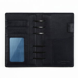 【ポケットサイズ(ナロー変形サイズ)】180ソフトレザー・バインダー送料無料