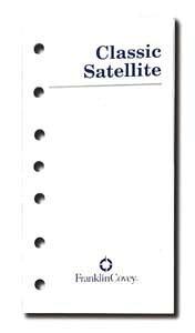 クラシックサイズ(7穴 A5 変形サイズ)サテライト・ノートブック